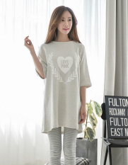 How To Get Maternity Sleepwear Clothes Nursing Breast Feeding Nightgown Suit Intl