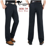 Low Cost Men 100 Cotton Casual Straight Pant Cargo Trousers Male Non Iron Thin Business Formal Suit Pant Intl