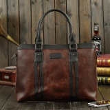 Store Men 14Inch Pu Leather Business Laptop Messenger Bag Briefcase Handbag Coffee Intl Unbrand On China