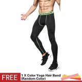 Men 3D Printed Workout Sports Tights Leggings Fitness Football Basketball Running Pants Elastic Compression Quick Dry Trousers Intl China