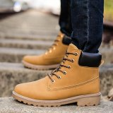 Best Price Men Ankle Boots Fur Lined Winter Autumn Warm Martin Boots Shoes Intl