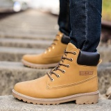 Men Ankle Boots Fur Lined Winter Autumn Warm Martin Boots Shoes Intl Lower Price