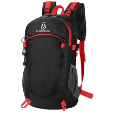 Wholesale Men Backpack Travel Women Nylon Waterproof High Capacity Mountaineer Bags Black Intl