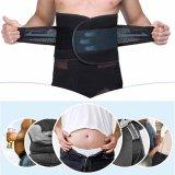 Discount Men Belly Abdomen Waist Slimming Shaper Wrap Belt Breathable Black Intl Oem On China