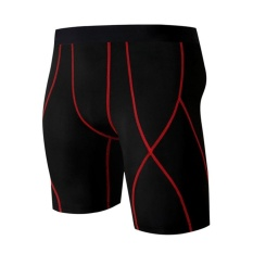 Where Can I Buy Men Bodybuilding Shorts Compression Workout Male Fitness Gymwear Cotton Mens Elastic Waist Intl