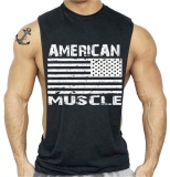 Get The Best Price For Men Bodybuilding Vest Fitness Sleeveless T Shirt Singlets Tops Tank Tee Workout Intl