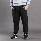 Sales Price Men Casual Loose Plus Size Pant Cotton Trousers Intl