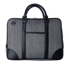 Men Cool Oxford Business Handbag Briefcase Shoulder Messenger Bag Grey Intl Export Intl Coupon