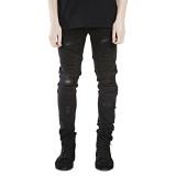 Buy Men Jeans Runway Slim Racer Biker Jeans Fashion Hiphop Skinny Jeans For Men Intl Online China