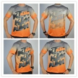 Who Sells Men Ktm Shirt T Shirt Motorcycle Moto Gp Cycling Riding Quick Dry T Shirt Orange Grey Intl