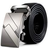 Men Leather Automatic Buckle Belts Fashion Waist Strap Belt Waistband Oem Cheap On China