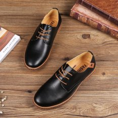 For Sale Men Leather Shoes Casual Fashion Shoes For Men Shoes Casual Big Size Mens Shoes Comfort Shoes Intl