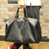 Where To Buy Men Leather Tote Bag High Capacity Portable Satchel Bag Leisure Korean Business Bag Fashion Travel Bag Black