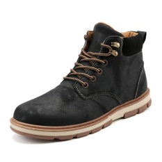 Brand New Men Martin Boots Ankle Boots Combat Worker Winter Fashion Winter Shoes Intl