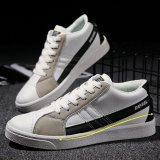 Price Comparisons For Men Night Luminous Suede Skater Couple Sneakers Sport Shoes White Black