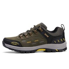 Men Outdoor Travel Hiking Shoes Sport Sneakers Professional Green Coupon