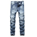 Review Men Plus Size Straight Jeans Male Distressed Denim Pants Biker Jeans Ro Designer Bin Jeans For Men Religious Outfits Intl China