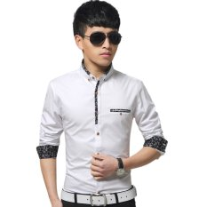 Price Men S Long Sleeve Business Formal Shirts White Export China