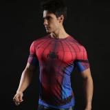 Lowest Price Men S Marvel Heroic Sports Fitness Quick Drying T Shirt