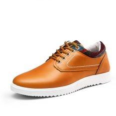 The Cheapest Men Skater Shoes Student Fashion Sneaker Vamp New Arrival Orange Online