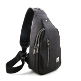Where To Buy Men Sling Bag Chest Shoulder Gym Outdoor Casual Backpack Crossbody Bag Travel Daypacks Intl