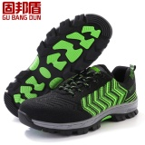 Review Men Steel Toe Cap Work Safety Shoes Reflective Casual Breathable Outdoor Hiking Boots Puncture Proof Protection Footwear Intl Oem