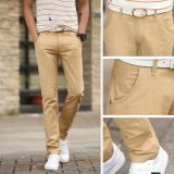 Men Straight Business Casual Pants Trousers Thin Cotton Pant Intl Cheap
