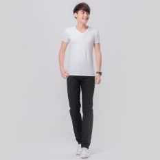 Discounted Men Straight Casual Pants Male Trousers Cotton Korean Pant Intl