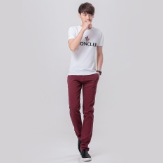 Compare Men Straight Casual Pants Male Trousers Cotton Korean Pant Intl