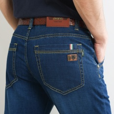 Buy Men Straight Jeans Loose Plus Size Summer Jean Male Thin Trousers Pant Intl Cheap On China