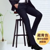 Buy Men Straight Slim Suit Pants Casual Office Business Work Formal Male Trousers Intl Oem