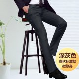 Discount Men Straight Slim Suit Pants Casual Office Business Work Formal Male Trousers Intl Oem China