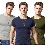 Price Comparison For Men Summer O Neck Short Sleeve Casual T Shirt Intl