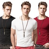 Men Summer O Neck Short Sleeve Casual T Shirt Intl For Sale Online