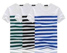 Compare Price Men Summer Short Sleeve Stripe T Shirt Intl Oem On China