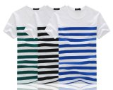 Men Summer Short Sleeve Stripe T Shirt Intl Lower Price