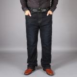 Men S Plus Size Deep Rise Straight Leg Jeans Black Black Compare Prices