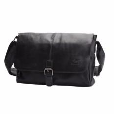 Handbag Men PU Leather Shoulder Messenger Sling Bag Male Solid Cross Body Satchel Bags 3534