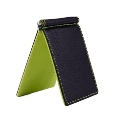 Men Wallet Short Wallets Leather Purses PU Leather Money Clips Solid Thin Wallet Wallets For Men