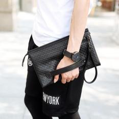 Review Men Women Fashion Multifunctinal Business Handbag Casual Clutch Wrist Messenger Bag Intl On China