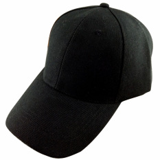 a20dbe048eaee1 Men Women Outdoor Baseball Caps Adjustable Sun Visor Hat Solid Black By  Stoneky.