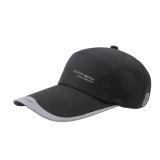 Best Price Men Women Sports Cap Baseball Golf Anti Uv Sun Shade Outdoor Lengthen Brim Hats Black