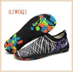 Buy Men Women Swimming Yoga Beach Breath Shoes Sandals For Summer Casual Shoes Barefoot Flexible Water Skin Shoes Aqua Socks For Beach Swim Surf Yoga Exercise Aiwoqi Intl Online