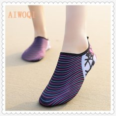 Buy Men Women Swimming Yoga Beach Breath Shoes Sandals For Summer Casual Shoes Barefoot Flexible Water Skin Shoes Aqua Socks For Beach Swim Surf Yoga Exercise Aiwoqi Intl Cheap On China