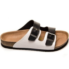 3dd5caaa5a3 Men s Casual Birkenstock Arizona Soft Footbed Flat Slippers Size 40-46  (Black White