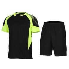 Men S Short Sleeve Quick Drying Training Fitness Shuttlecock Clothes Xlf013 Shop