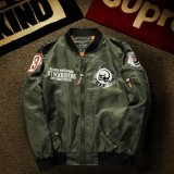 Shop For Mens Air Force Embroidered Badge Baseball Bomber Jackets Intl