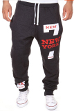Cheap Men S Casual Jogger Dance Sportwear Baggy Harem Pants Fashion Slacks Trousers Sweatpants Dark Grey