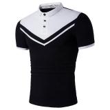 Top 10 Mens Casual Polo S Cotton Short Sleeve Slim Polo Shirts White White