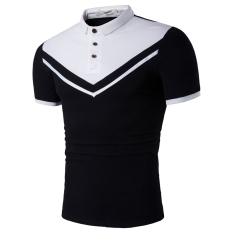 Purchase Mens Casual Polo S Cotton Short Sleeve Slim Polo Shirts White White Online